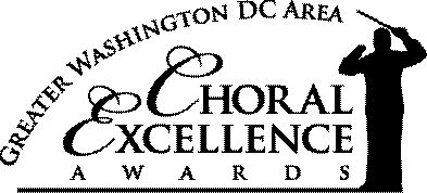 Tickets Now Available for the 2018 Greater Washington Choral Excellence (Ovations) Awards